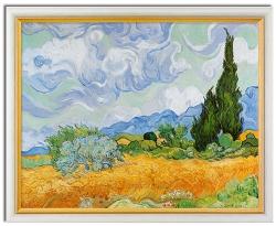 Vincent van Gogh: Weizenfeld mit Zypressen (1889)